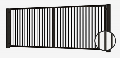 swing gate, swing gates, swing gate profile, swing gate with profile